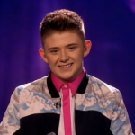 Superman is Scottish teenage singer Nicholas McDonald's Christmas winner's single hope for The X Factor 2013