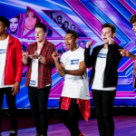 Concept band members on X Factor 2014 Auditions impressed singing Earthquake with Harry Styles Cousin in the band