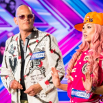 Kitten and the Hip brought a whole lot of crazy to the X Factor singing Shut Up and Dance