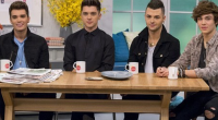 It's been two years since Union J shot to fame on The X Factor and today the band appeared on Lorraine on ITV to promote their new single title 'Tonight...