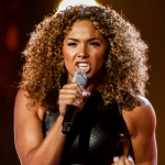 Shanay Holmes  Read All About It by Emeli Sande  at X Factor bootcamp 2014