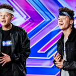 The Brooks twins Kyle and Josh singing Us Against The World on The X Factor 2014 Auditions