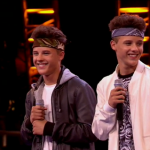 The Brooks twins Without You by David Guetta at X Factor 2014 Bootcamp