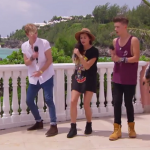 Only The Young  singing Ghost at Judges Houses in Bermuda on The X Factor 2014