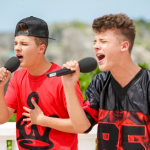 The Brooks twins sing Jar of Hearts at X Factor Judges Houses and revealed that their mother gave them up when they were babies
