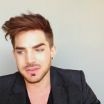 Adam Lambert on The X Factor UK 2014 gives Paul Akister encouragement ahead of his performance of Queen classic