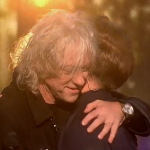 Bob Geldof and Olly Murs launch Band Aid 30 on The X Factor 2014 Results show
