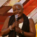 Jennifer Phillips shackles on X Factor UK 2015 audition