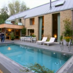 Where did Nick Grimshaw stay and jet ski in the Cotswolds on The X Factor Judges Houses 2015