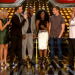 Three acts chosen by Simon Cowell in the studio for UK The X Factor 2015 live shows