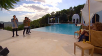 Louis Walsh throws a pool party in Ibiza for his groups before they performed at his villa in Ibiza on The X Factor Judges Houses 2016. Louis was joined by...