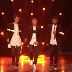 Five After Midnight homecoming bus head to Leicester on The X Factor final