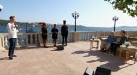 Louis Walsh take Lloyd Macey, Aidan Martin, Spencer Sutherland, Jack Mason and Leon Mallett to The X Factor 2017 Judges House in Turkey.