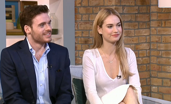 Cinderella star Downton Abbey's Lily James and her Prince Charming Game of Thrones's Richard Madden chatted to Ruth Langsford and Eamonn Holmes on This Morning. In the interview the Game […]