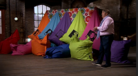 Mark Newman pitched his Bigboy bean bags business for investment on Dragons' Den. Mark came into the Den seeking an investment of £75,000 for his family run business.