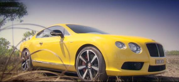 Richard Hammond Yellow Bentley Continental on Top Gear | The