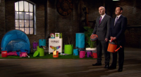 David Fannin and Shaun Moore from Sorcit, showcased their collapsible camping products from their colapz range on Dragons Den.