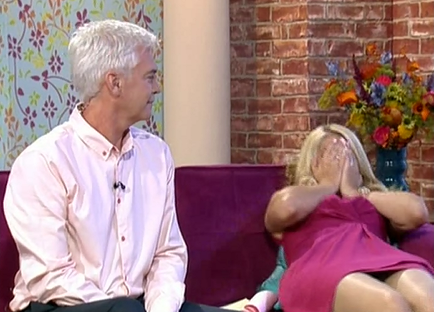 holly willoughby interview peter andre on this morning