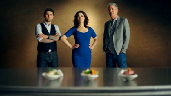 The Taste judges Channel 4