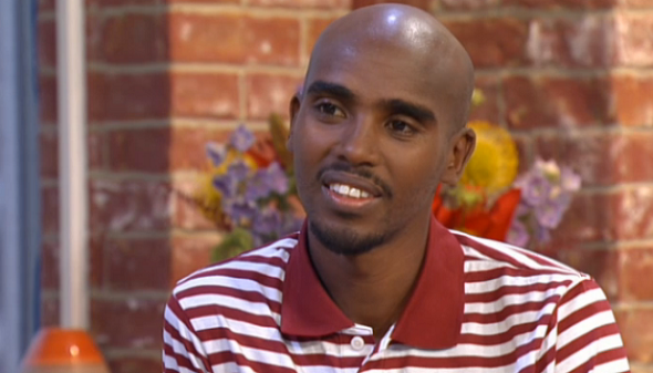 mo farah the morning