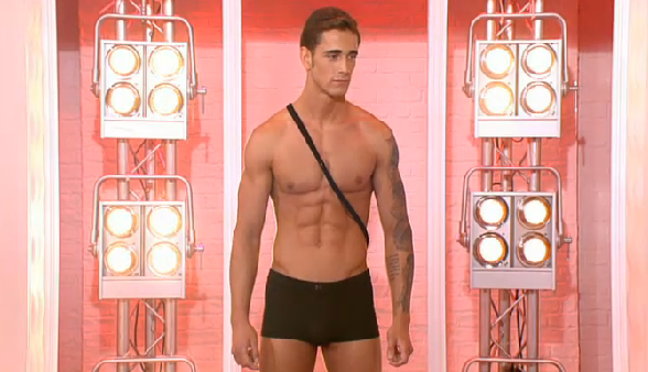 Ross Hindmarch male model ITV This Morning