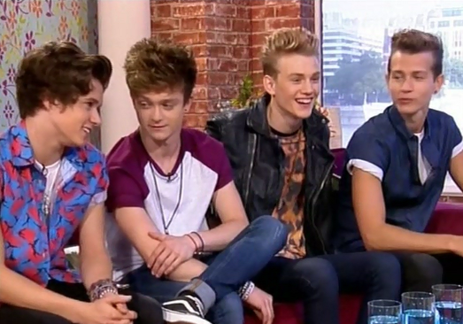 the vamps on this morning