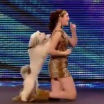 The winner of Britain's Got Talent 2012 is Ashleigh and Pudsey  the dog