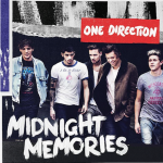Midnight Memories album artwork released by One Direction