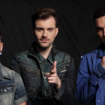Band members of Freaky Fortune feat. RiskyKidd from London hopes to win Eurovision 2014 with their song Rise Up for Greece