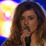 27 year old Molly Smitten-Downes sings Children of the Universe for the UK in the Eurovision 2014 Song Contest