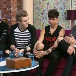Five Second Of Summer (5SOS) the hot sexy new Australian new boyband  interviewed on ITV This Morning
