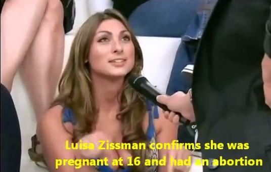 luisa zissman pregnant