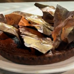 Paul Hollywood Pies and Puds :  Paul Young  joins Paul to create Chocolate and Prune Tart
