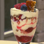 Paul Hollywood Pies and Puds:  Cranachan Cheese Cake