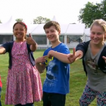Junior Bake Off 2013: James Martin's Kavern, Missy, James and  Lilly-Grace to a real test