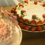 Paul Hollywood Pies and Puds : Strawberry Mousse cake