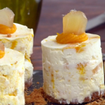 Paul Hollywood Pies and Puds: Pumpkin and Ginger Cheesecake