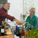 Paul Hollywood Pies and Puds : Luxury Fish Pie and Fruit Pies with Wine from Cairn o' Mohr winery in Perthshire