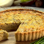 Paul Hollywood Pies and Puds :  Shallot Onion and Chive tart recipe