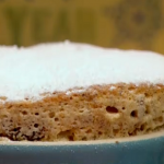 Christmas pudding soufflé  by Gino D'Acampo on Let's Do Christmas with Gino and Mel