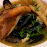 Christmas Fish Soup Recipe by Gino on Let's Do Christmas with Gino and Mel