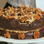 South West of England regional final on Britain's Best Bakery won by Cottage Kitchen bakery with their Afternoon Tea and coffee and walnut cake