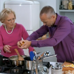Fish pie with bread crumbs and soufflé crouton topping by Mary Berry on Food and Drink