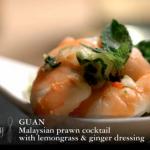 Richard Corrigan impressed by Guan Malaysian Prawn Cocktail Recipe on The Taste