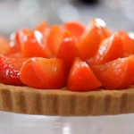 Plum Frangipane Tart recipe by Michel Roux Jr on Food and Drink