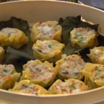 Lotus leaf wraps and prawn and crab dim sum on the Hairy Bikers Asian Adventure