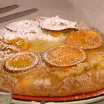 Upside down orange cake recipe for Mother's Day by Gino on This Morning