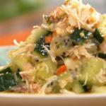 Rachel Khoo Crab and kiwi tartare recipe on Spring Kitchen with Tom Kerridge