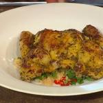 Tom Kerridge Spatchcock Poussin (Spring Chicken) with couscous on Spring Kitchen With Tom Kerridge