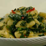 Gennaro Contaldo Gnocchi with wild rocket, chilli and garlic on Spring Kitchen with Tom Kerridge